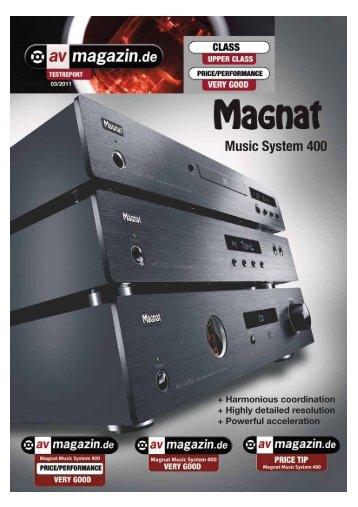 Music System 400 - Audiokomponentai