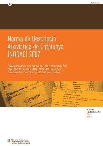 nodac - Generalitat de Catalunya