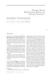 1er janvier - 31 mars 2013 - Pouvoirs