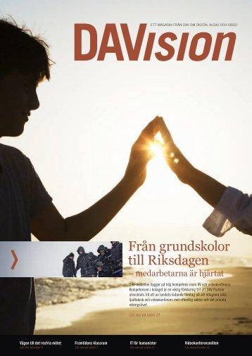 Från grundskolor till Riksdagen - DAV Partner