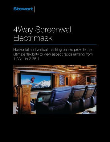 4Way Screenwall Electrimask - Tecco