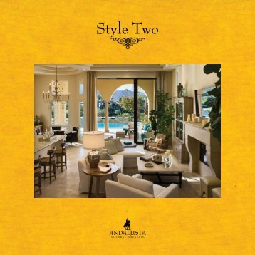 Style Two - Andalusia at Coral Mountain