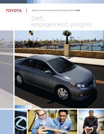 Défi, engagement, progrès - Toyota Canada