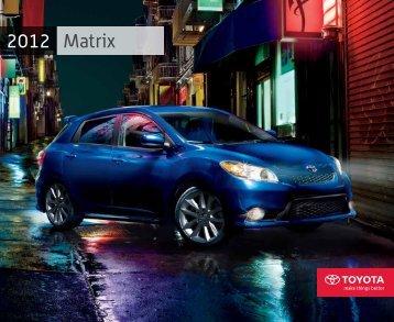 Matrix 2012 - Toyota Canada