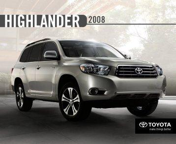 highlander hybrid. - Toyota Canada