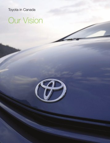 Our Vision - Toyota Canada