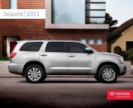 Sequoia 2011 - Toyota Canada