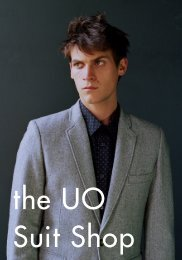 UO Suit Shop - Urban Outfitters