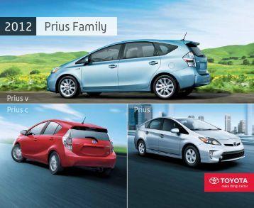 Prius Family 2012 - Amazon S3