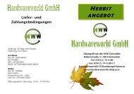 HERBST ANGEBOT