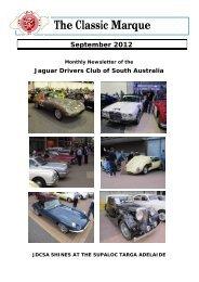 The Classic Marque - Jaguar Drivers Club of South Australia