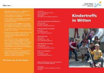 Kindertreffs in Witten