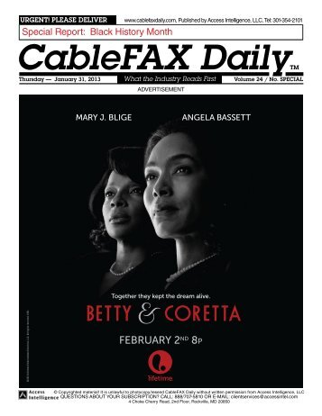 Black History Month Special Report - CableFax