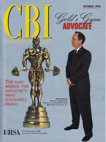 CBI Cover Story - Barton Productions