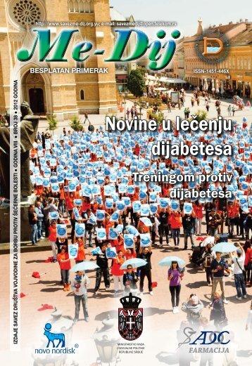 Novine u lečenju dijabetesa - Savez društava Vojvodine za borbu ...