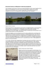 Panorama Arnhem, de Rijnstad in historisch ... - MijnGelderland