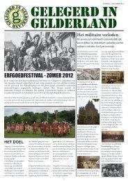 ERFGOEDFESTIVAL - ZOMER 2012 - MijnGelderland