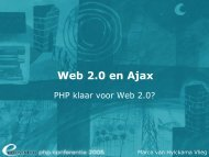 Web 2.0 en Ajax - Eduvision
