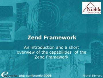 Zend Framework - Eduvision