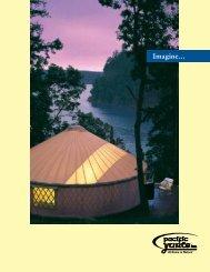 Color Brochure - Pacific Yurts