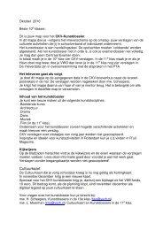 Cultuurkaart - Rudolf Steiner College Rotterdam