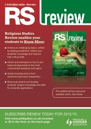 SuBSCRIBe/ReNeW TODAY FOR 2012/13 - Magazines - philipallan ...