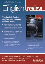 SubScribe/renew today for 2012/13 - Magazines - philipallan.co.uk