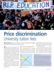 Price discrimination - Magazines - philipallan.co.uk