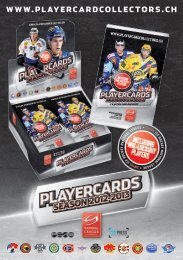 WWW.PLAYERCARDCOLLECTORS.CH