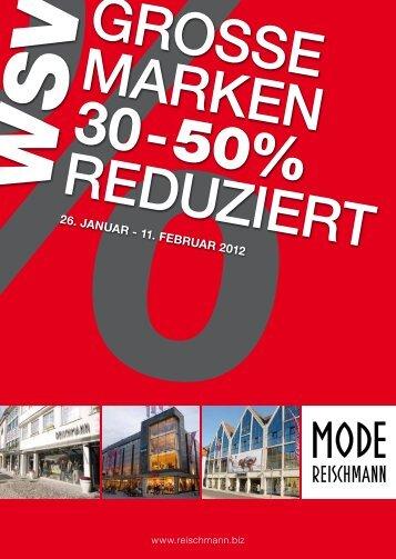 26. Januar - 11. Februar 2012 - Mode · Sport · Ravensburg