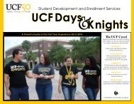 UCF Days Knights - The SDES Archive - University of Central Florida