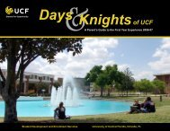 2007-2008 - The SDES Archive - University of Central Florida