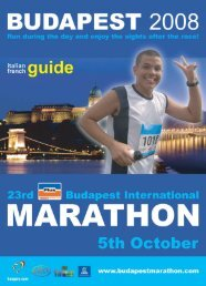 Page 1-28 - Budapest Marathon Organisation