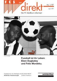 Ghana - FC Solothurn