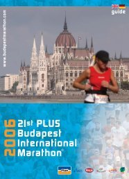 Seite 1-24 - Budapest Marathon Organisation