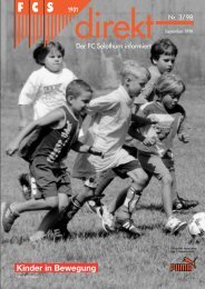 00 FCSdirekt 3/98 f rSolnet - FC Solothurn