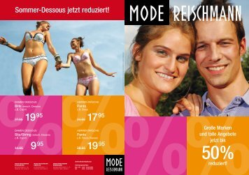 Sommer-Dessous jetzt reduziert! - Mode · Sport · Ravensburg