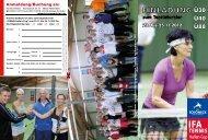 IFA TENNIS Hallen-Cup 2012 - briese vogtlandwerbung