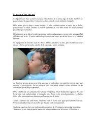 Cuidados del pecho - Centro Materno Infantil