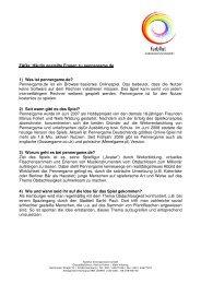 FAQs: Häufig gestellte Fragen zu pennergame.de 1) Was ist ...