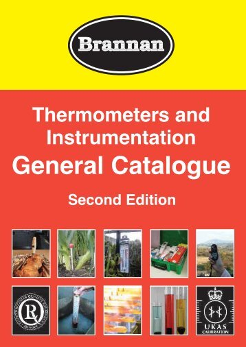 General Catalogue - Brannan Thermometers and Gauges