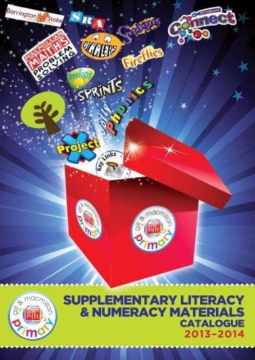 Supplementary literacy & numeracy materialS - Gill & Macmillan