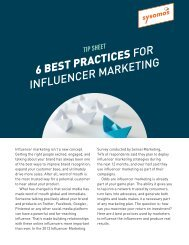 Sysomos_TipSheet_InfluencerMarketing2