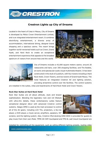 Download - Crestron Asia