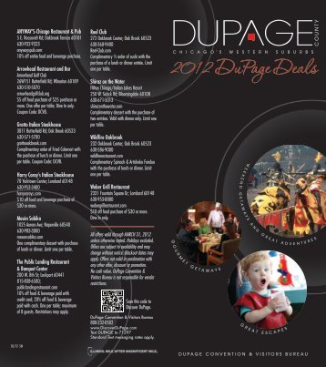 2012 DuPage Deals - DuPage County