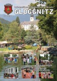 Informationsblatt 2/2011 - Stadtgemeinde Gloggnitz