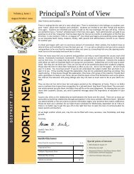 Family Newsletter Aug - Oct 2010 - Grayslake North High School