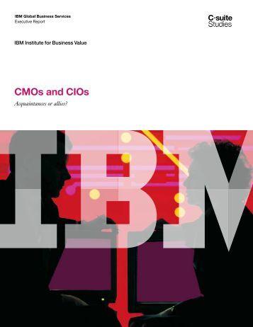 CMOs and CIOs - IBM
