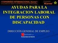 Dirección General de Empleo - Alares