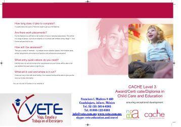 Level 3 cache diploma in childcare
